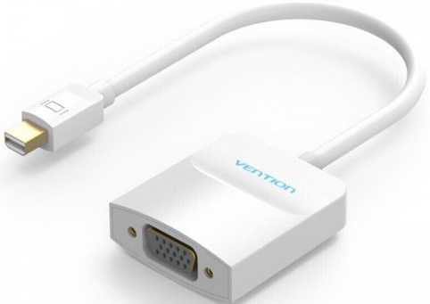 Переходник Vention HBDWB mini DisplayPort 20M / VGA 15F переходник vention vga hdmi