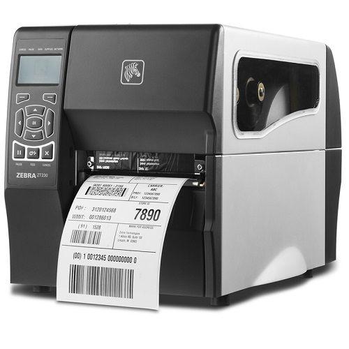 Принтер термотрансферный Zebra ZT230 (ZT23042-T0E000FZ) 203dpi, Euro and UK cord, Serial, USB