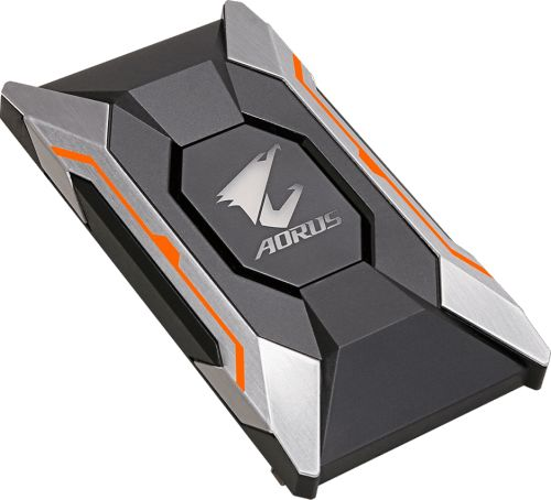 Мост GIGABYTE AORUS SLI HB bridge RGB (2 slot spacing) (GC-A2WAYSLIL RGB)