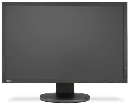 Монитор 24'' NEC MultiSync PA243W 1920х1200, 8 мс, 350 кд/м2, 1000:1, 178°/178°, AH-IPS, DVI-D, HDMI, DisplayPort, VGA, USB 3.1, HAS, Pivot, black телевизор led 48 nec multisync v484 черный 1920x1080 60 гц vga hdmi 1 x dvi d line in rs 232c usb displayport 07an1gbn