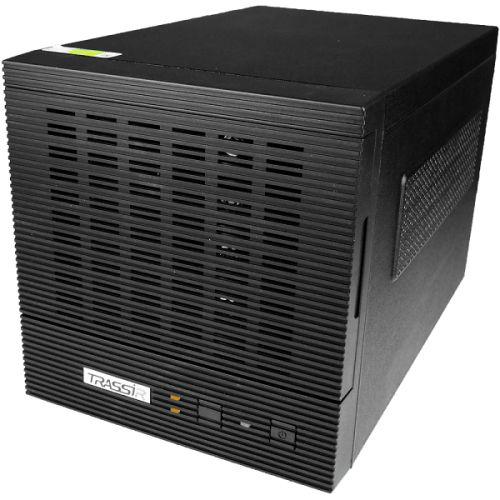 Сервер TRASSIR TRASSIR PVR Storage 4 для синхронизации архива с персональных регистраторов. Хранение и управление видеозаписями сотрудников. Объем хра