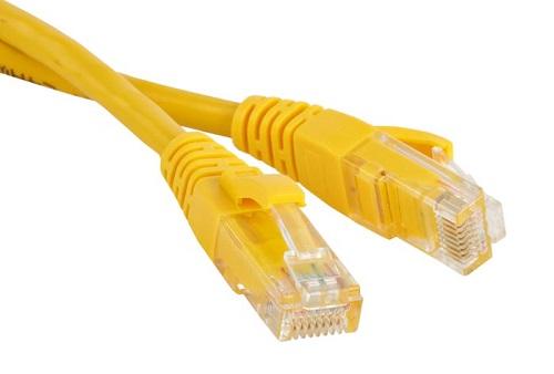 Hyperline PC-LPM-UTP-RJ45-RJ45-C6-1.5M-LSZH-YL
