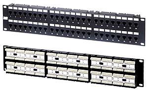 Hyperline PP-19-48-6P4C-C2