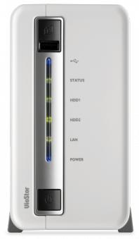 Система видеонаблюдения IP QNAP VS-2108L с 8 каналами для записи видео