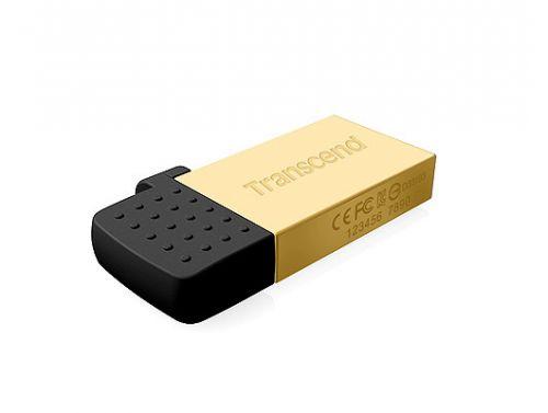 Накопитель USB 2.0 32GB Transcend JetFlash 380G золотистый флешка transcend jetflash 380g 64gb золотистый