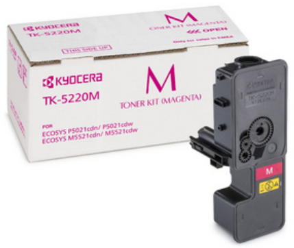 Тонер-картридж Kyocera TK-5220M 1T02R9BNL1 для M5521cdn/cdw,P5021cdn/cdw 1,200 страниц
