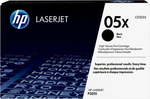 Картридж HP 05X CE505X для принтера LaserJet P2055d/P2055dn