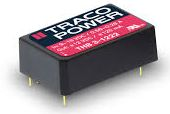 Преобразователь DC-DC модульный TRACO POWER THB 3-0511 3Watt;4.5 - 9 VDC;5 VDC / 600 mA;SMD Package, regulated, 2:1 input