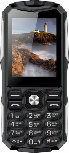Мобильный телефон Vertex K213 black/silver