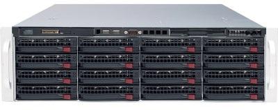 Видеорегистратор Линия NVR-128 SuperStorage 4U, подключение до 128 IP-видеоканалов (работа заявленного количества видеоканалов гарантирована при услов