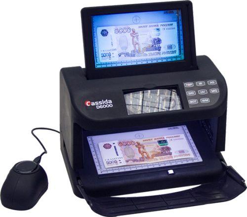 Cassida - Детектор банкнот просмотровый Cassida D6000