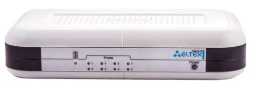 Шлюз VoiceIP ELTEX TAU-8.IP 8xFXS, 1xWAN, 1xUSB, SIP