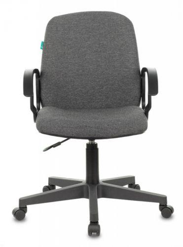 Кресло Бюрократ CH-808-LOW цвет серый 3C1 низк.спин. крестовина пластик