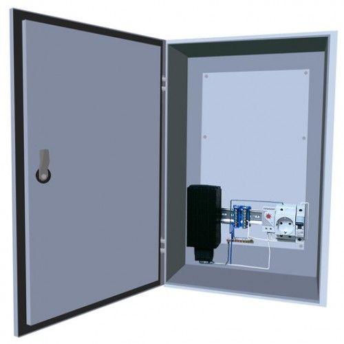 Шкаф Телеком-Мастер Мастер 3УTП (климатический термошкаф) с подогревом и предстартом 560*370*180 IP66