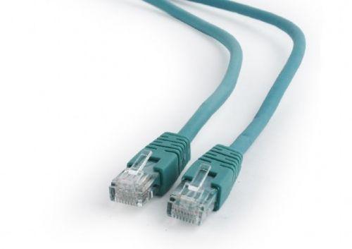 Кабель патч-корд UTP 6 кат. 1м. Cablexpert PP6U-1M/G литой, многожильный, зелёный