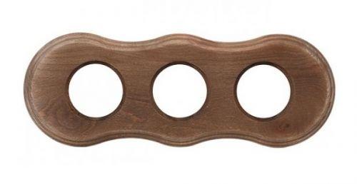 Рамка Bironi BF8-630-18 3-ая, форма восьмерка