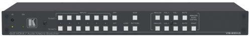 Коммутатор матричный Kramer VS-62HA 20-80338020 6х2 HDMI и Аудио, поддержка 4K60 4:2:0, Step-in