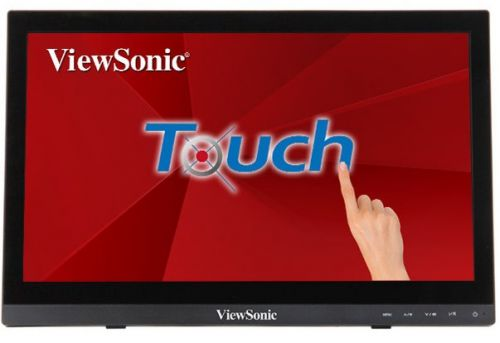 Монитор 15,6 Viewsonic TD1630-3 Touch 1366x768, 12 мс, 220 кд/м2, 100000000:1, 90°/60°, VGA, HDMI, USB, колонки, Tilt, VESA(75x75), black аксессуар palmexx hdmi vga px hdmi vga