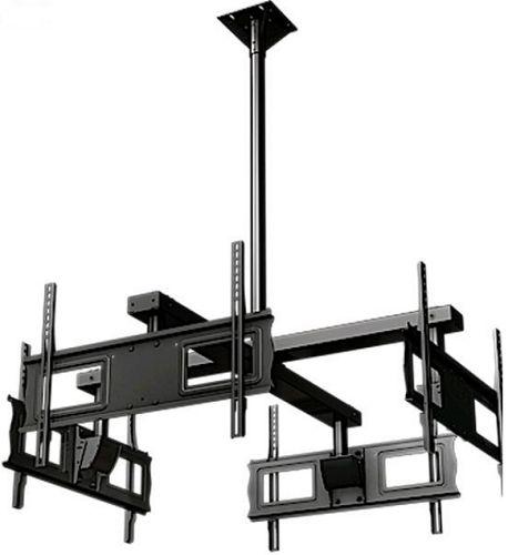 """Крепление потолочное Wize DSM63 для 4-x телевизоров, 37-63"""", до 68кг, штанга поставляется опционально"""