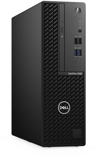 Фото - Компьютер Dell Optiplex 3080 SFF i3-10100/4GB/1TB/Intel UHD 630 TPM/Win10Pro компьютер dell precision 3440 sff i7 10700 16gb 512gb ssd intel uhd 630 sd tpm dp win10pro