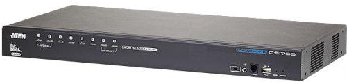 Переключатель KVM Aten CS1798-AT-G switch, HDMI+KBD+MOUSE+AUDIO, 1> 8 портов/port USB, со шнурами USB HDMI 2x1.8м