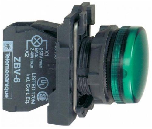 Лампа Schneider Electric XB5AVM3 сигнальная зелёная светодиодная 230В