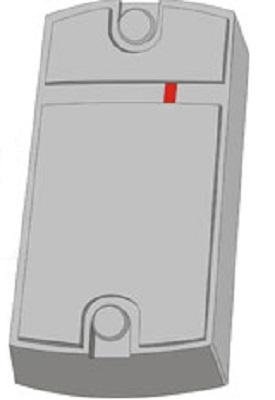 Считыватель IronLogic Matrix-II (мод.MF-I) Matrix-II (мод.MF-I) серый расстояние считывания 3-6 см, карты Mifare, выход Touch Memory, Wiegand