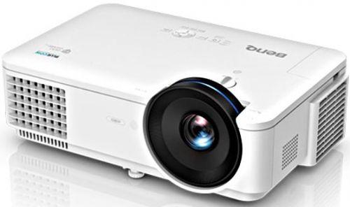 Фото - Проектор BenQ LW720 лазерный, DLP, WXGA, 4000 Lm, 20000:1, TR 1.45-2.25, 5.6 кг проектор optoma w400 dlp 4000 ansi lm wxga 22000 1 2 41кг