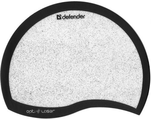 Фото - Коврик для мыши Defender Ergo opti-laser 50511 черный, 215х165х1.2мм коврик для мыши defender thor gp 700 50070
