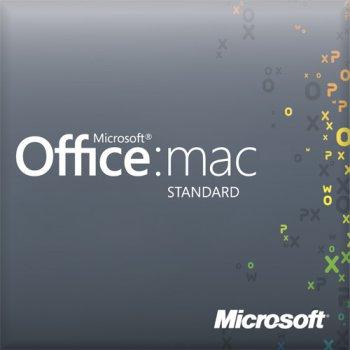 Microsoft Office Mac Standard 2019 Single OLP NL