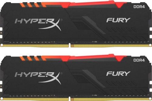 Модуль памяти DDR4 32GB (2*16GB) HyperX HX430C16FB4AK2/32 Fury RGB 3000MHz CL16 1.35V