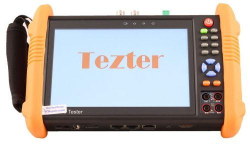 Тестер Tezter TIP-H-M-7 универсальный AHD/CVI/TVI/CVBS и IP-видеосистем. (Базовая модель + мультиметр). Возможности: Поддержка ONVIF; 5Mp TVI, 4Mp CVI