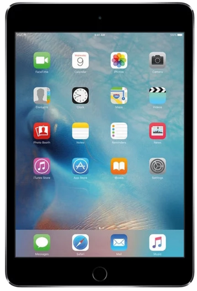 Apple iPad mini 4 Wi-Fi + Cellular 128GB Space Gray (MK762RU/A)
