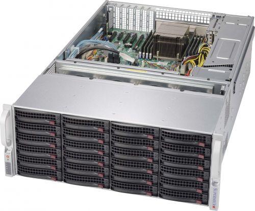 "Supermicro Корпус серверный 4U Supermicro CSE-847BE1C-R1K28LPB (36x3.5"" + 2x2.5 HS w EXP, 13.68""x13"", E-ATX, 7xLP, 2x1280W Plat.)"