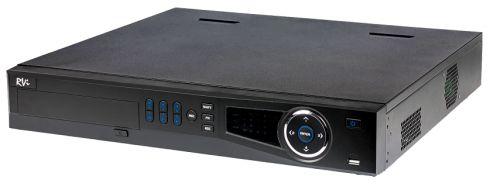 Видеорегистратор RVi RVi-IPN16/4-4K V.2 Количество видео потоков для записи: 16; Формат сжатия видео: H.265, H.264; Видеовыходы: 1 HDMI / 1 VGA