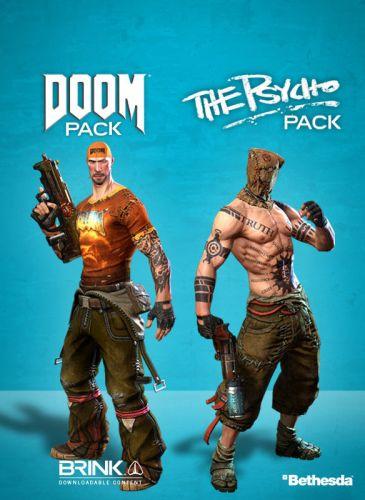 Электронный код Bethesda BRINK : Doom - Psycho Combo Pack