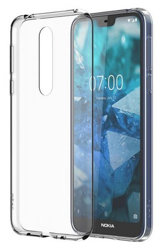 Фото - Чехол Nokia 8P00000031 для Nokia7.1ClearCaseCC-170 чехол nokia 3 4 clear case transparent