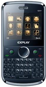 Explay Q231 blue 3 sim