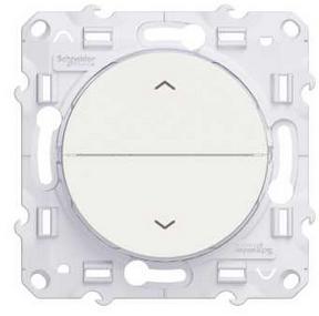 Выключатель Schneider Electric S52R207 Odace Белый жалюзи 3 позиции