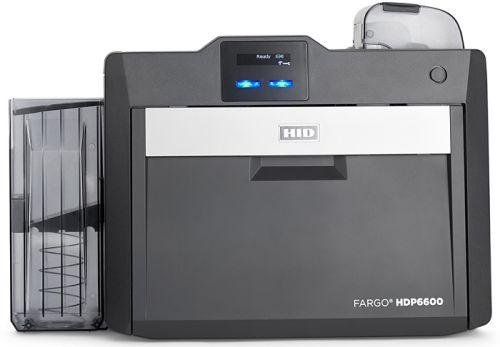 Принтер для печати пластиковых карт Fargo HDP6600 SS 94600 600 dpi, ЖК-дисплей, USB, Ethernet, полноцветный, односторонний