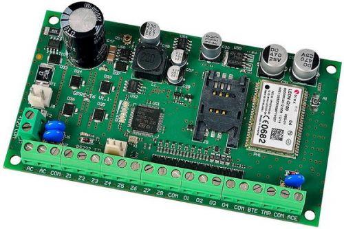 Модуль SATEL GPRS-T6 BO бесперебойным БП, предназначен для осуществления мониторинга GPRS и SMS от любого ПКП или другого устройства, без корпуса, с а