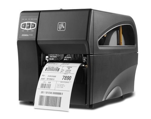 Принтер термотрансферный Zebra ZT220 (ZT22043-T0E000FZ) 300dpi, RS232, USB