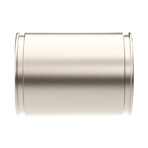 Муфта труба-труба DKC 6110-50 соединительная, ф50мм, IP66/IP67, никелированная латунь ,