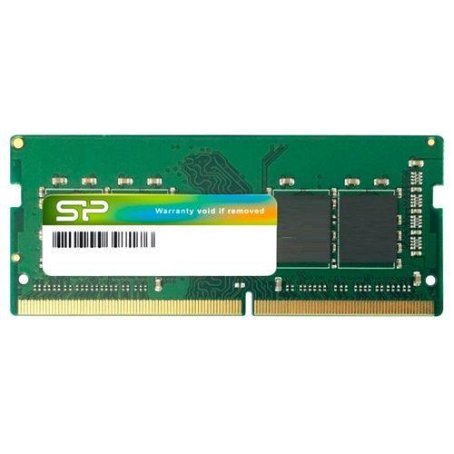 Модуль памяти SODIMM DDR4 4GB Silicon Power SP004GBSFU240C02 PC4-19200 2400MHz CL17 512Mx16 SR 1.2V
