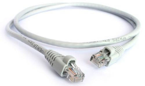 Фото - Кабель патч-корд UTP 5e кат. 10м. GCR GCR-LNC03-10.0m , RJ45, литой (Серый) кабель патч корд utp 5e кат 20м gcr gcr lnc03 20 0m rj45 литой серый