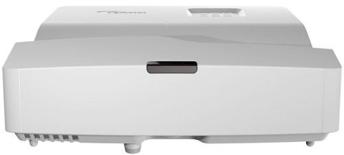 Фото - Проектор Optoma W340UST E1P1A1FWE1Z2 DLP,WXGA,4000 ANSI Lm,22000:1,TR 0,27:1,ультракороткофокусный,HDMI*2, VGAin, composite video,3.5 mm audio in,USB( проектор optoma w400 dlp 4000 ansi lm wxga 22000 1 2 41кг