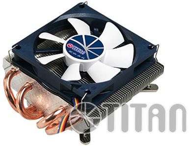 Кулер Titan TTC-NC25TZ/PW(RB) S775/1155/1156/1366/AM2/AM2+/AM3/AM3+/FM1/754/939/940 (Al+Cu,80x80x15 мм,1500-3500rpm,13.8-35 дБ,14.84-37.1CFM,4-pin PWM