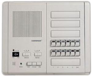 Переговорное устройство COMMAX PI-10LN Центральный пульт громкой связи с абонентскими пультами. Подключение максимум 10 абонентских станций CM-800L. С