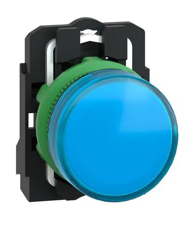 Лампа Schneider Electric XB5AVB6 сигнальная синяя светодиодная 24В
