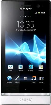 Sony Xperia U ST25i White